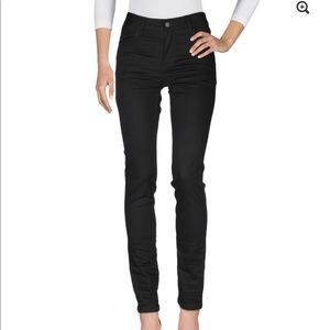 Cheap Monday black denim skinny jeans